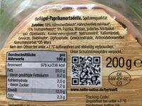 Geflügel Paprika-Mortadella - Ingredients