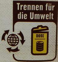 Kindney Bohnen - Wiederverwertungsanweisungen und/oder Verpackungsinformationen - de