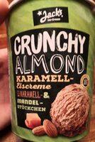 Crunchy Almond Karamell-Eiscreme - Produkt - de