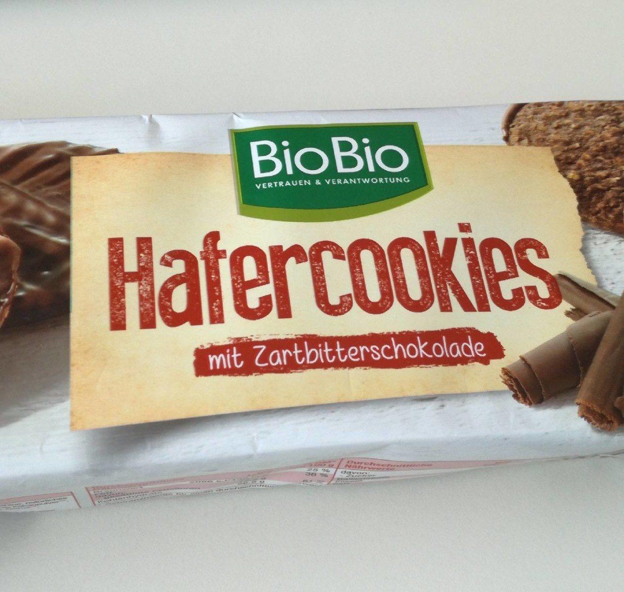 Hafercookies Zartbitterschokolade - Product - de