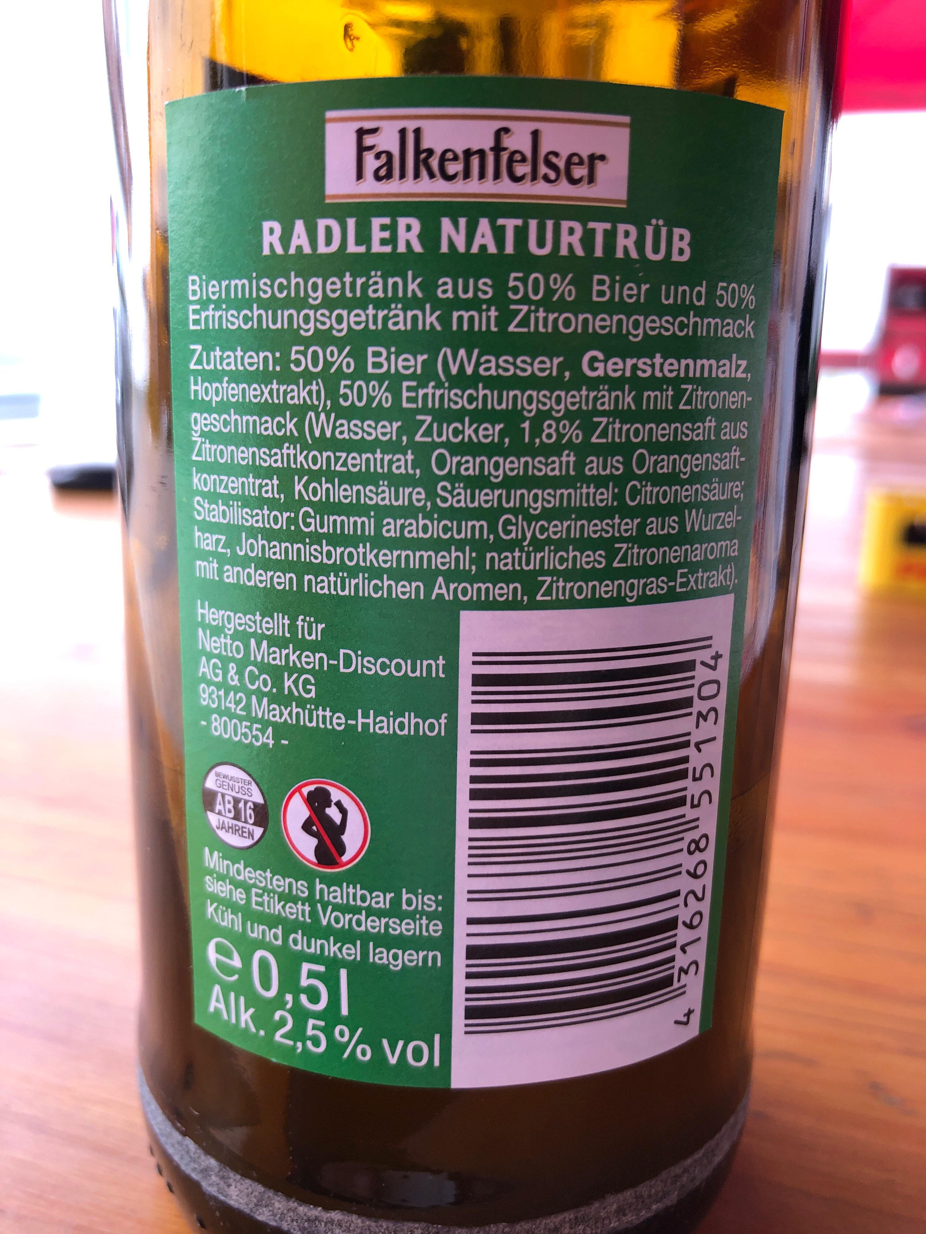 Falkenfelser - Ingrediënten - de