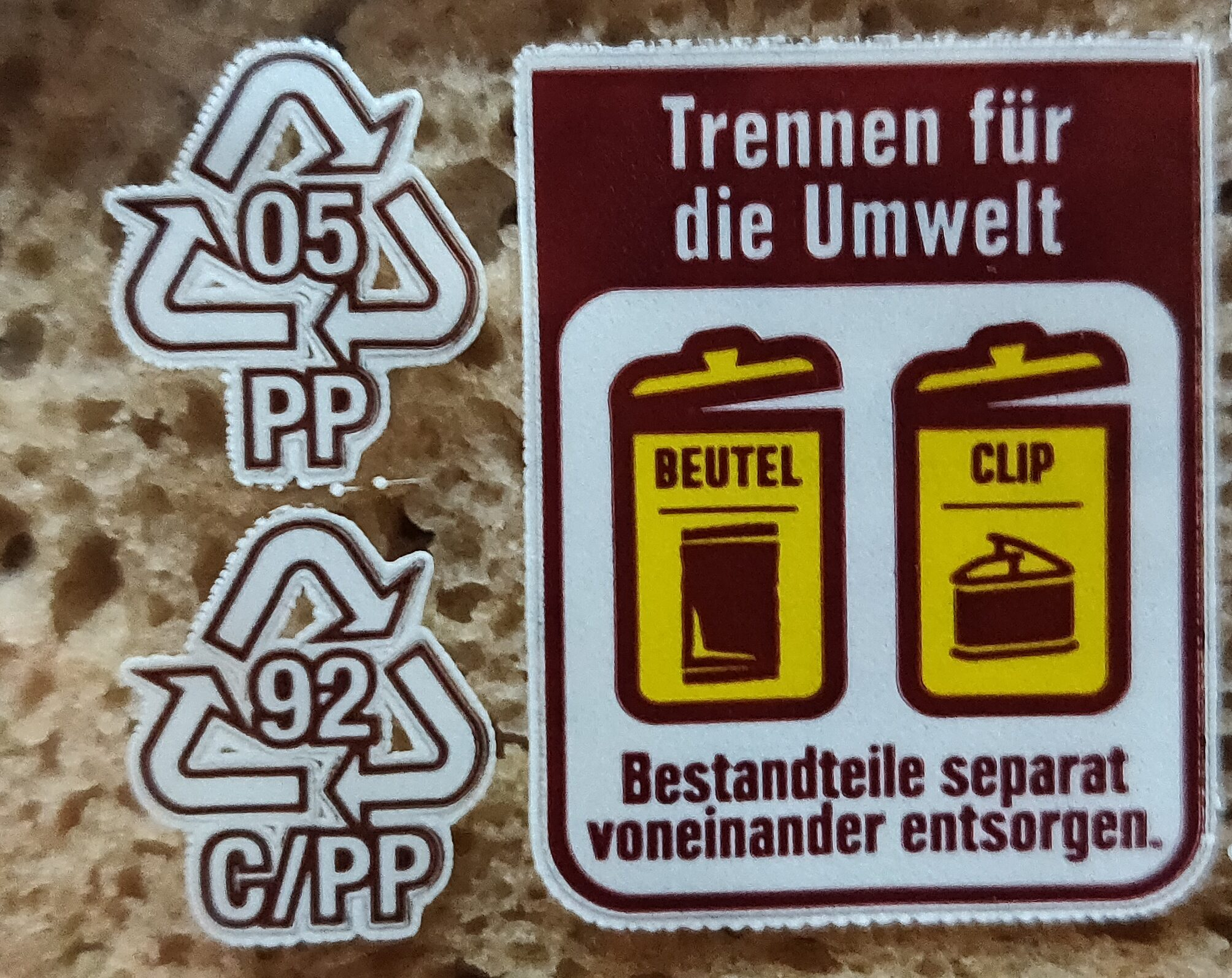 Roggen Mischbrot - Recycling instructions and/or packaging information - de