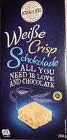 Weiße Crisp Schokolade - Produit - de