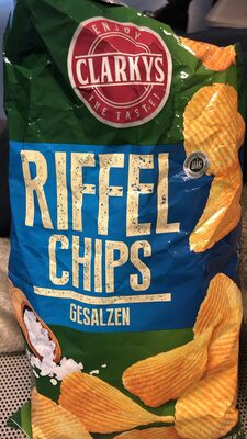 Clarkys Riffel Chips, gesalzen - Product