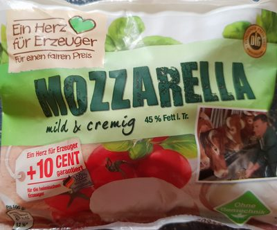 Mozzarella mild & cremig - Product - de