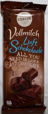 Vollmilch Luft Schokolade - Product