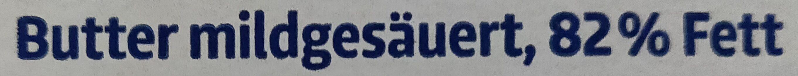 Deutsche Markenbutter - Ingredients - de