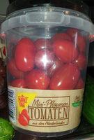 Mini-Pflaumen Tomaten aus den Niederlanden - Produit - de