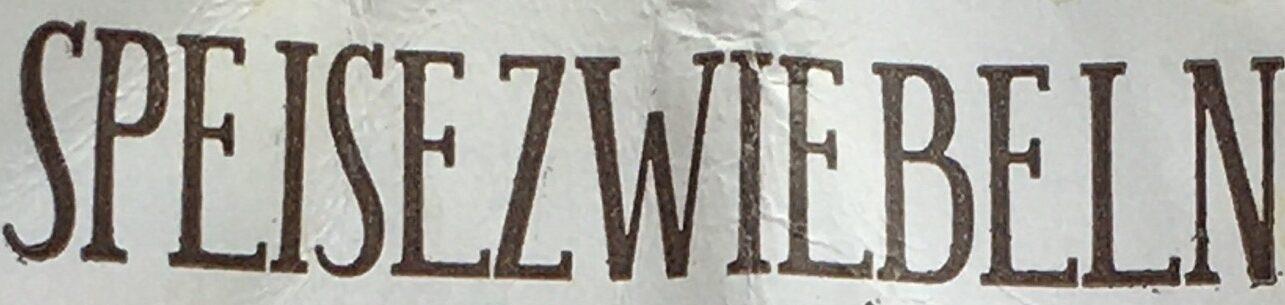 Speisezwiebeln - Ingrédients