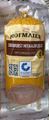 Leberwurst mit Kalbfleisch - Produkt