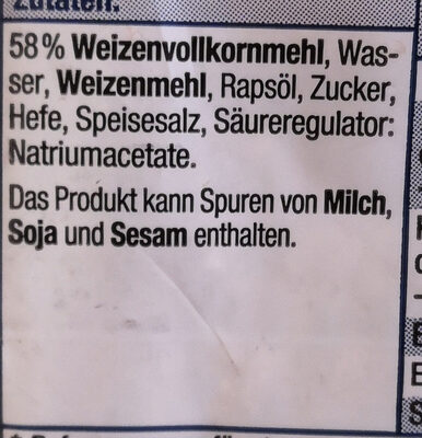 Sandwich Scheiben - Ingredienti