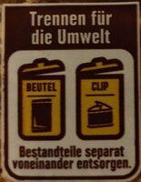 Sandwich Scheiben - Istruzioni per il riciclaggio e/o informazioni sull'imballaggio - de