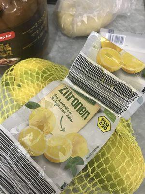 Zitronen - Produit