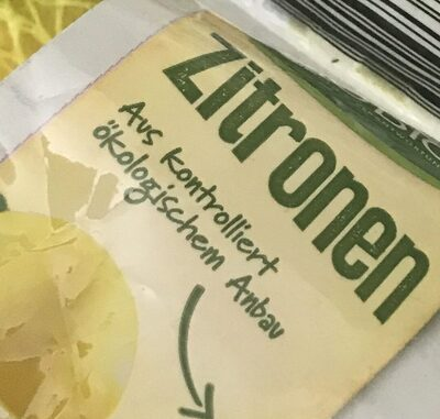 Zitronen - Ingrédients