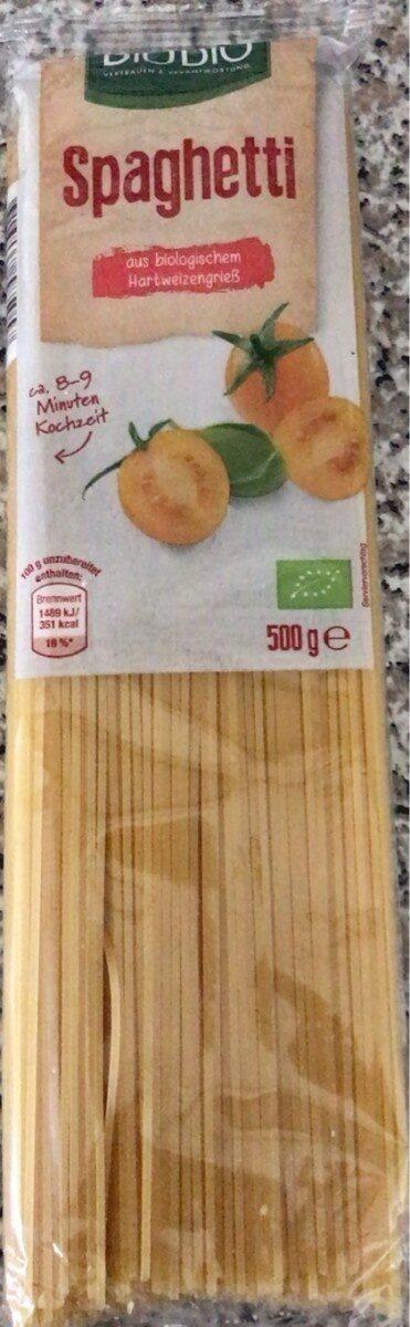 Spaghetti - Produit - de
