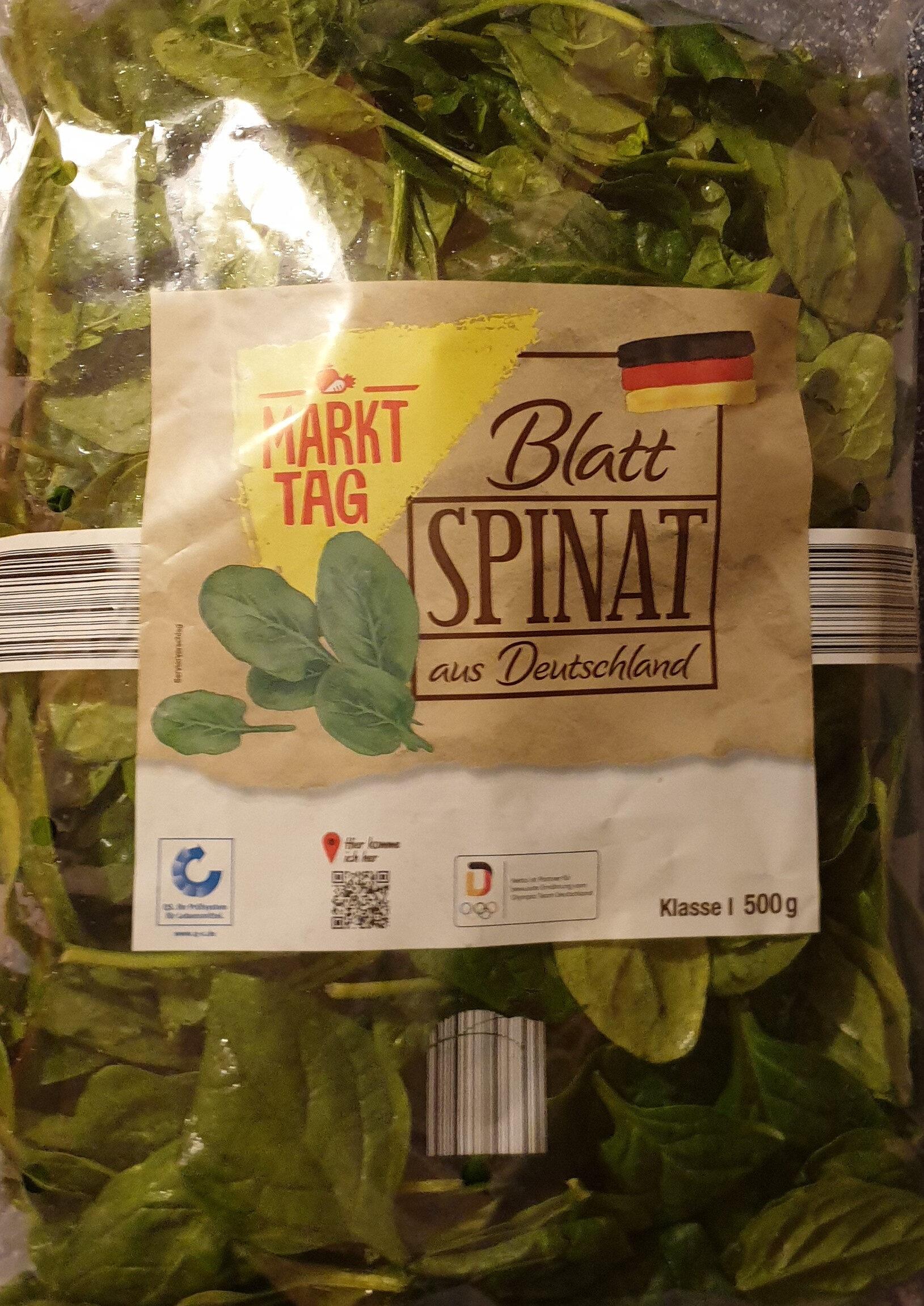Blatt Spinat aus Deutschland - Product - de