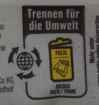 Mehrkorn Brötchen Bio - Recyclinginstructies en / of verpakkingsinformatie - de
