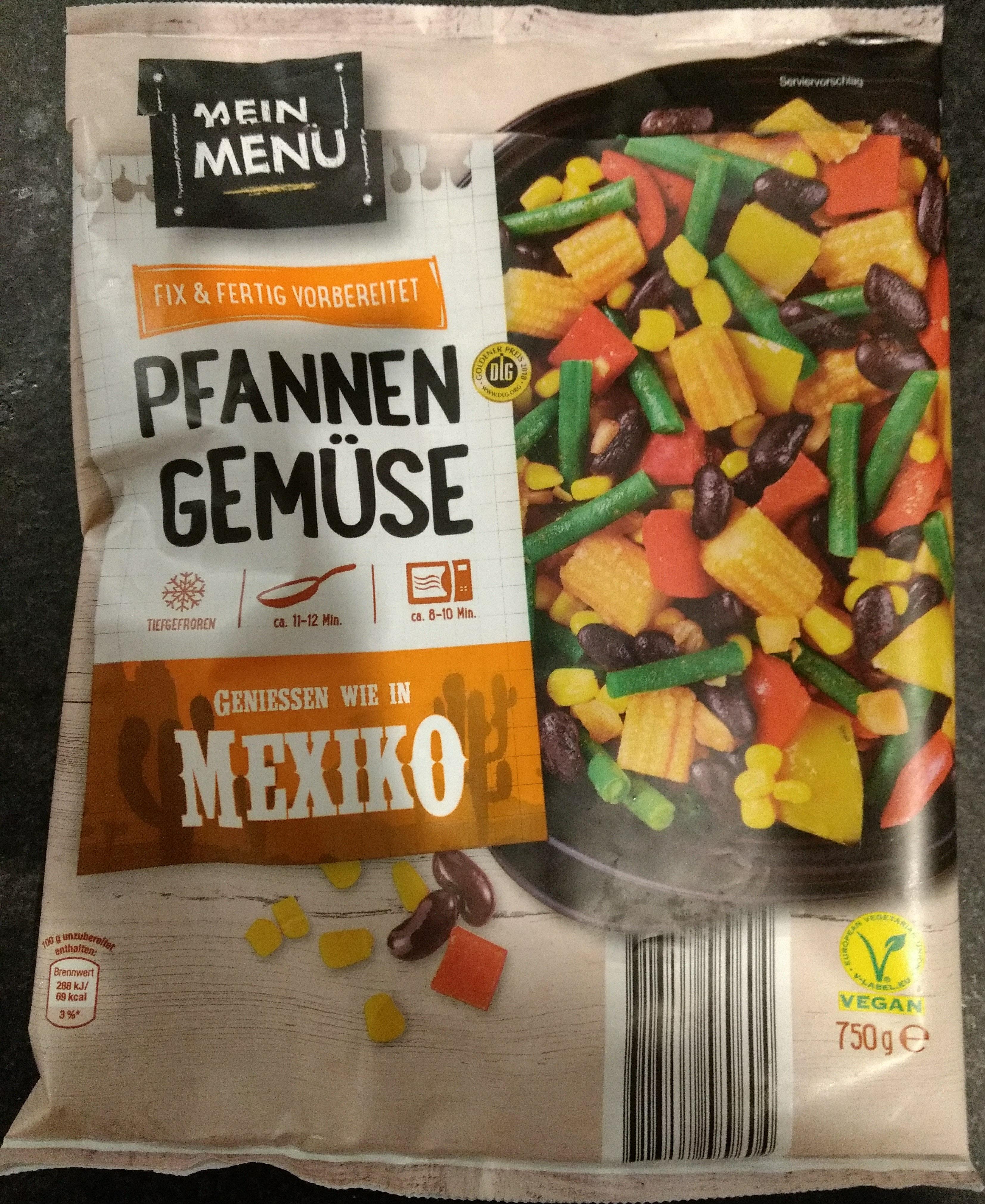 Pfannengemüse ';Mexiko'; - Product