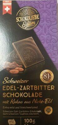 Edel-Zartbitter Schokolade - Produkt - de