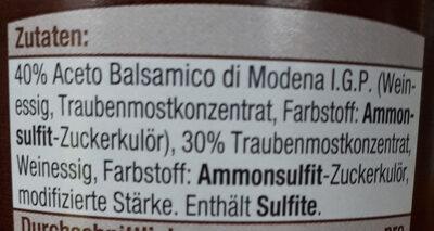 Creme classic - Ingredients - de