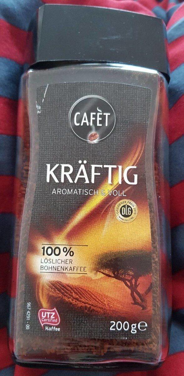 Löslicher Kaffee, kräftig - Produit - de
