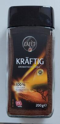 100% Löslicher Bohnenkaffee kräftig - Produit