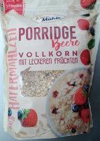Porridge Beere Vollkorn mit leckeren Früchten - Produit - de