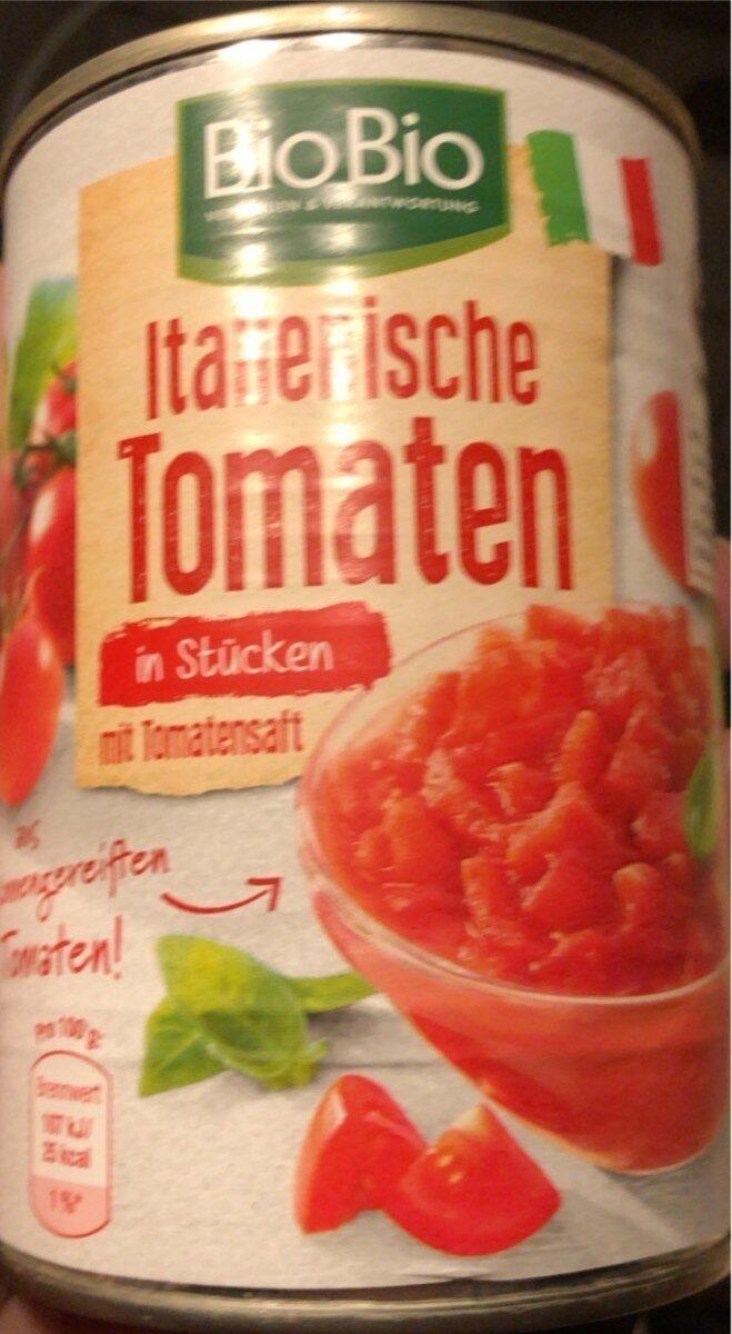 Tomaten in Stücken - Produkt - de