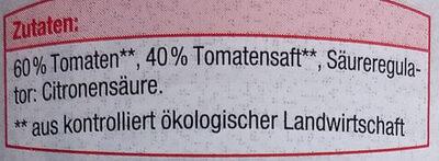 Tomaten in Stücken - Zutaten - de