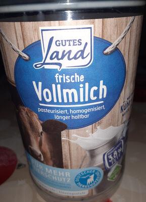 Frische Vollmilch - Prodotto - de