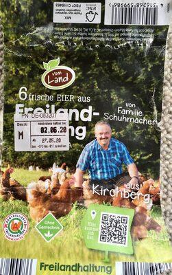 6 frische Eier von Familie Schuhmacher - Produkt - de