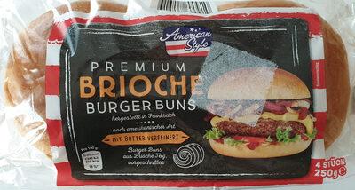 Premium Brioche Burger Buns - Produit - de
