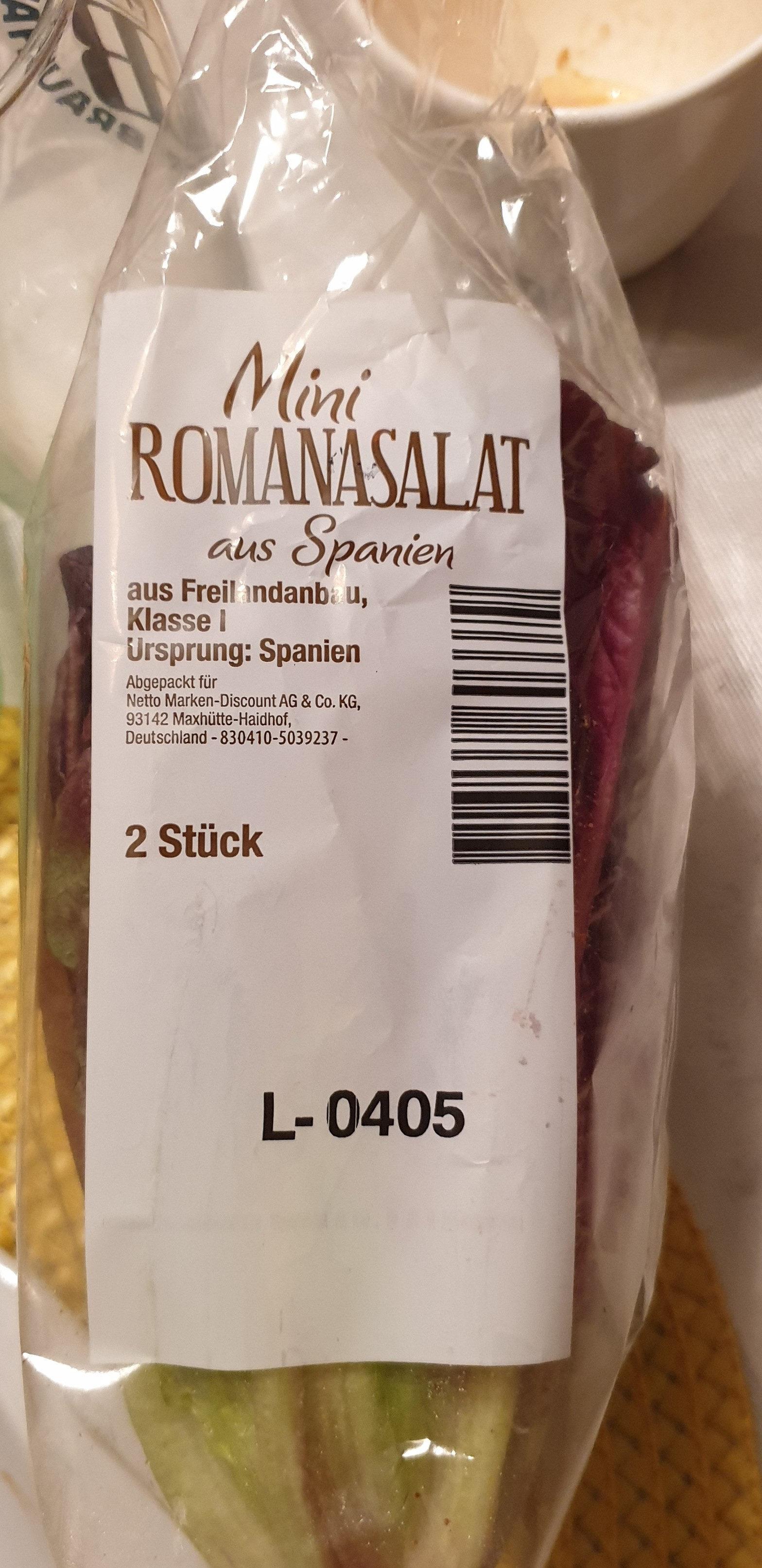 Mini Romanasalat - Ingrédients - de