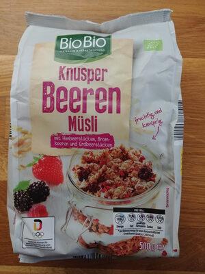 Knusper Beeren Müsli - Product - de