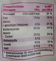 Knusper Beeren Müsli - Voedingswaarden - de