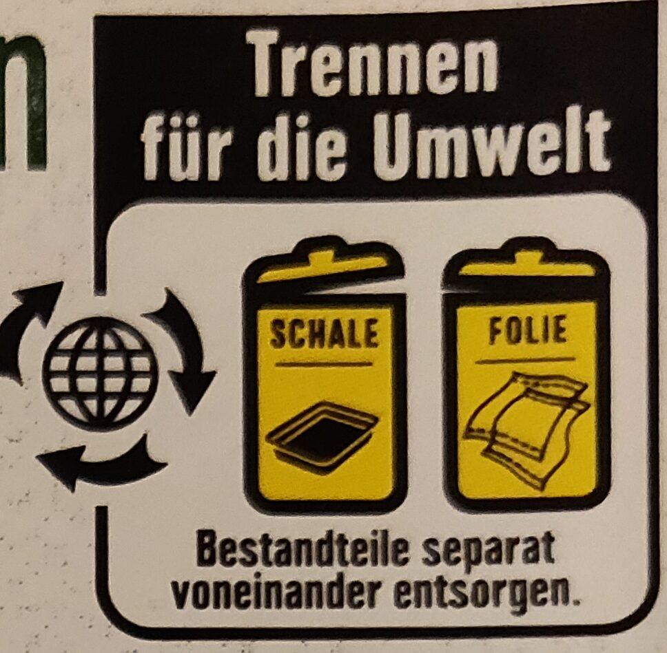 Wiener Würstchen - Instruction de recyclage et/ou informations d'emballage - de