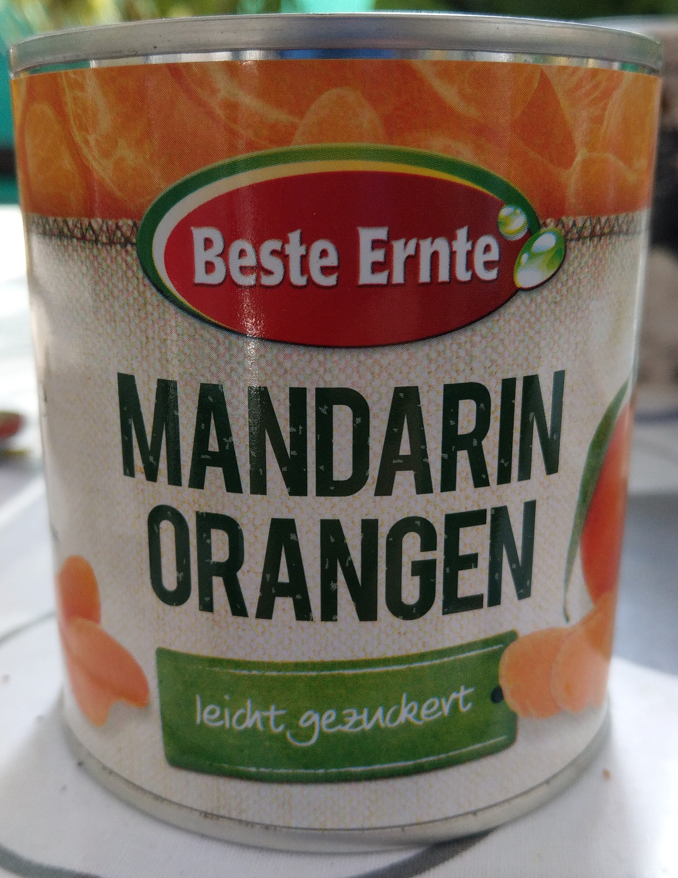 Mandarinen Orangen - Product