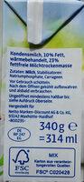Konfrnsmilch - Zutaten - de