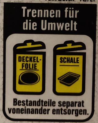 Appenzeller - Recycling instructions and/or packaging information - de