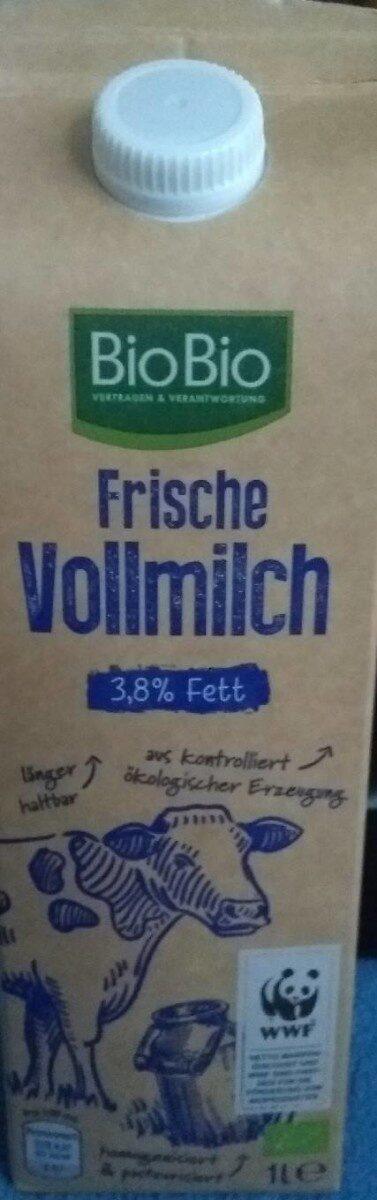 Frische Vollmilch - Produit - de