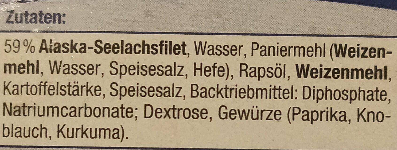 Knusperfilets im Backteig - Zutaten - de