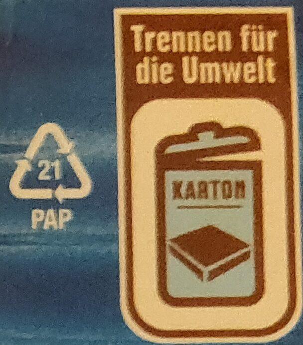 Knusperfilets im Backteig - Wiederverwertungsanweisungen und/oder Verpackungsinformationen - de