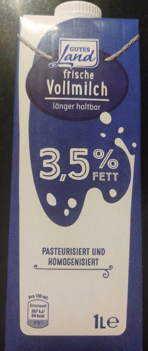 Frische Vollmilch 3,5% - Produkt - de