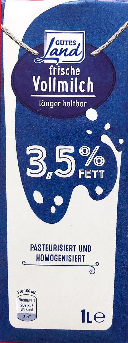 frische Vollmilch länger haltbar - Produit - de