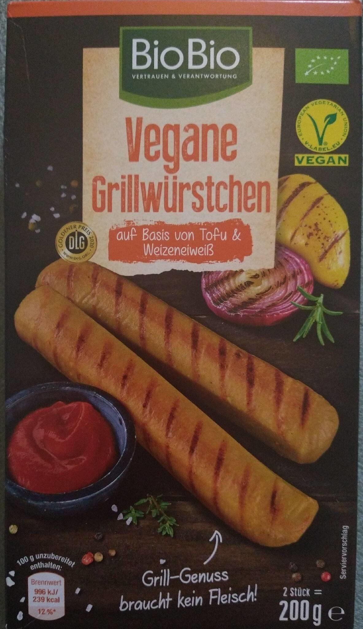 Vegane Grillwürstchen - Produit - de