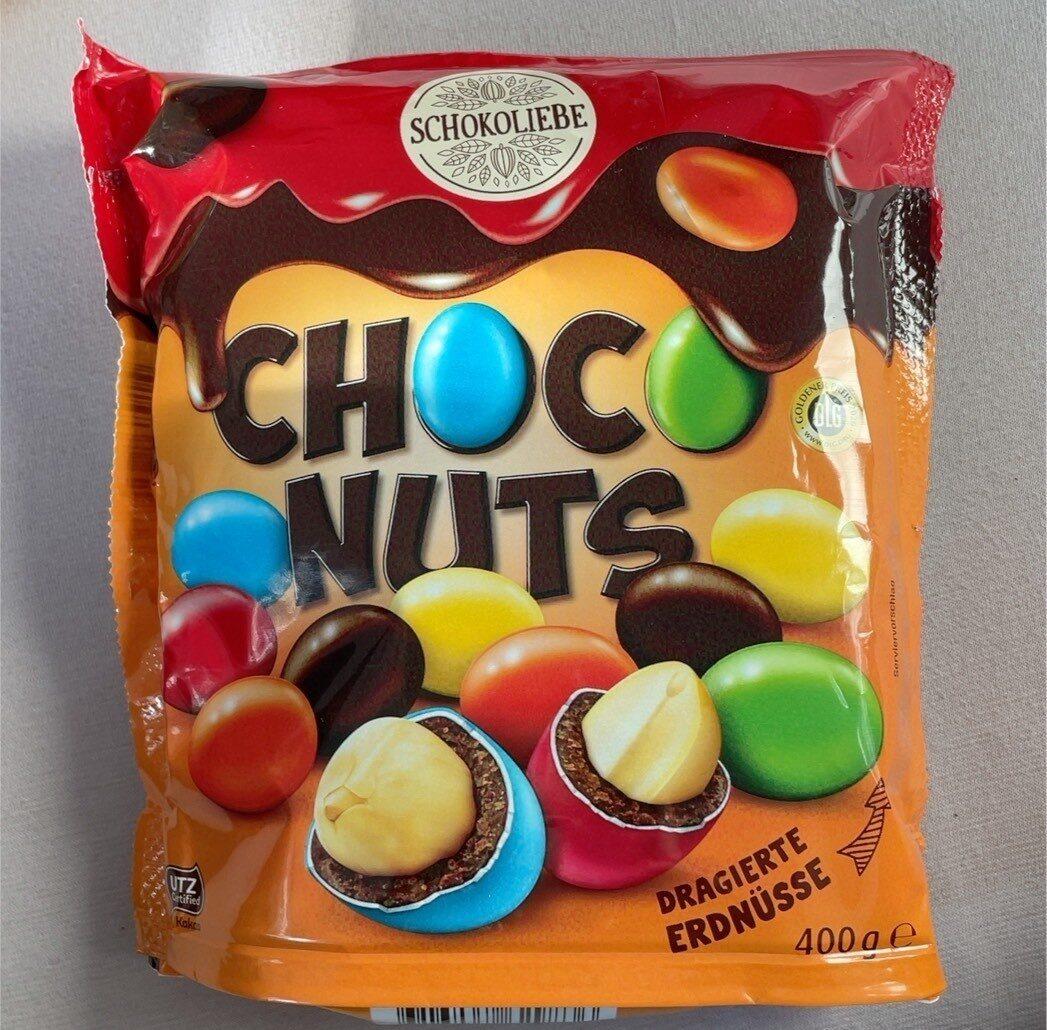Choc nuts - Produit - de
