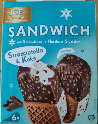 Sandwich Stracciatella & Keks - Produkt - de