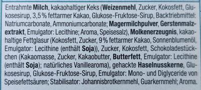 Sandwich Stracciatella & Keks - Zutaten - de