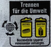 Soja Naturell Drink - Instruction de recyclage et/ou informations d'emballage - de