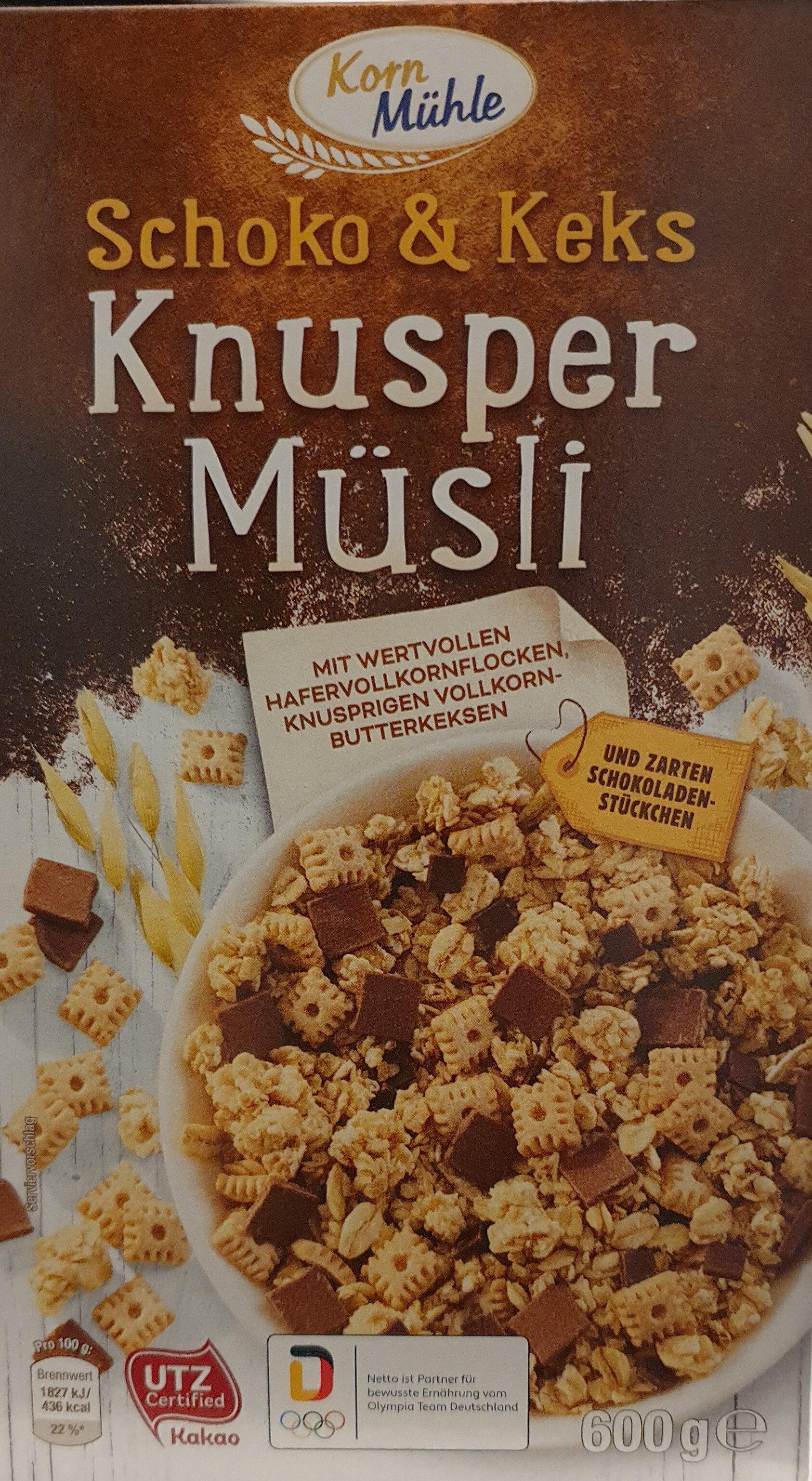 Knusper Müsli - Produit - de